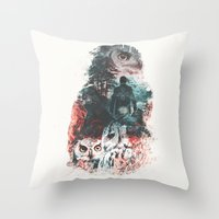 Not What They Seem Inspi… Throw Pillow