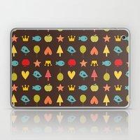 Happy pattern Laptop & iPad Skin