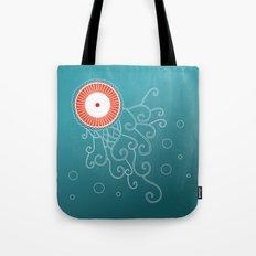 Jellyfish_tangle Tote Bag