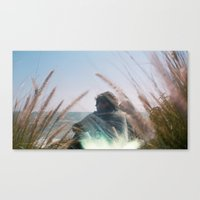 Surf Check on Film Canvas Print