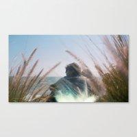 Surf Check On Film Canvas Print