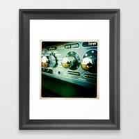 Sound Framed Art Print