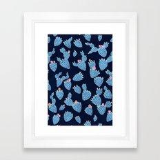 Flowering Cacti Framed Art Print