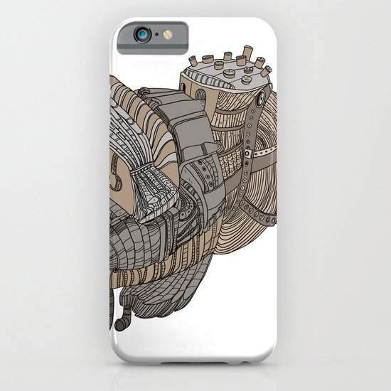 Space Bird iPhone & iPod Case