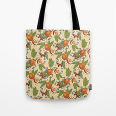 Botanical Oranges Tote Bag