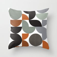 Circulate Throw Pillow