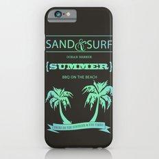 Aqua Summer Slim Case iPhone 6s