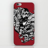 Horror Doodle iPhone & iPod Skin