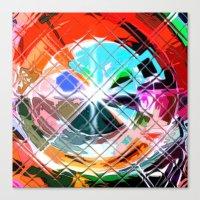 Harlekin abstrakt. Canvas Print