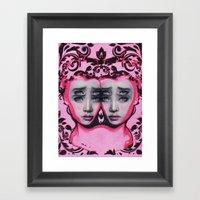 Powder By Alex Garant Framed Art Print