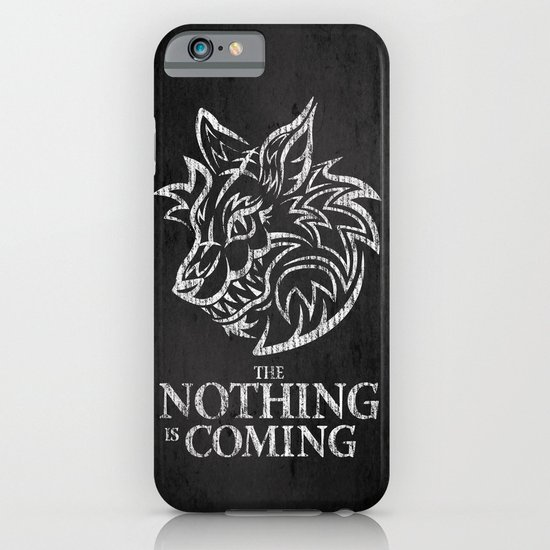 The Nothing is Coming  iPhone & iPod Case