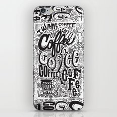 COFFEE COFFEE COFFEE! iPhone & iPod Skin