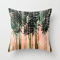 FOLIAGE II Throw Pillow