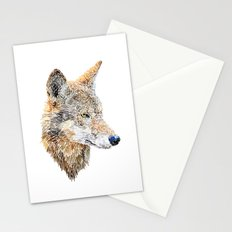 Wolf Head 2 Stationery Cards