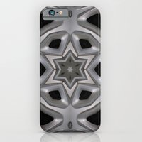 Abstract kaleidoscope of a wheel cover iPhone 6 Slim Case
