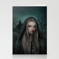 Witch Child Stationery Cards