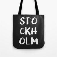 STOCKHOLM Tote Bag