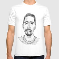 romain yves cocca SMALL Mens Fitted Tee White