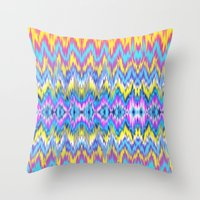 Ethnic Patterned Phone C… Throw Pillow