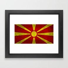 Flag of Macedonia in
