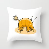 Pet#01 Throw Pillow