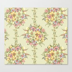 Bouquet Blossom Canvas Print