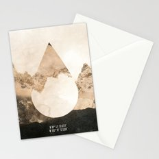 Longitude/Latitude Stationery Cards