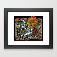Heimerdinger Color Varia… Framed Art Print