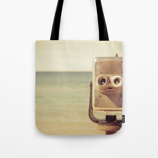 Robot Head Tote Bag