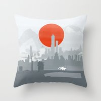 Avatar The Legend of Korra Poster Throw Pillow