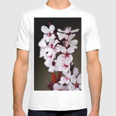 Signs of Spring 2 Mens Fitted Tee SMALL White