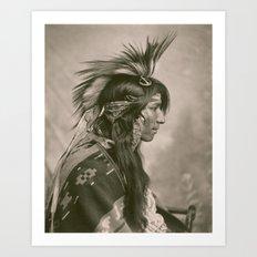 Cree Indian Art Print