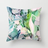Bells Of The Valley Throw Pillow