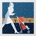 Park Slope Canvas Print