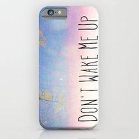 iPhone & iPod Case featuring Don't Wake Me Up by Bolu By Rima