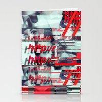 Glitch Decon 1 Stationery Cards