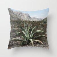Mexico Century  Throw Pillow