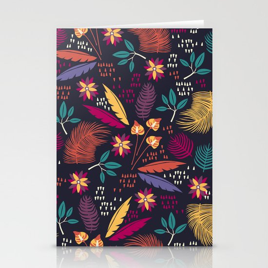 Tropical Forest  Stationery Card