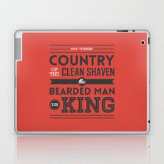 In the country of the clean shaven, the bearded man is king!  Laptop & iPad Skin