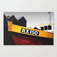 Hastings Fishing Boat Canvas Print
