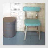My What a Pretty Chair Canvas Print