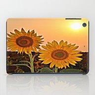 Couple Of Sunflowers iPad Case