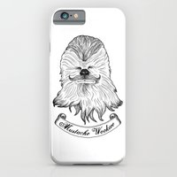 iPhone & iPod Case featuring Mustache Wookiee by T-SIR