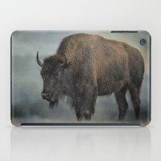 Stormy Day - Buffalo - Wildlife iPad Case
