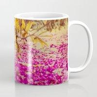 autumn pink Mug