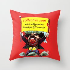 Hints Allegations and Things Left Unsaid Throw Pillow