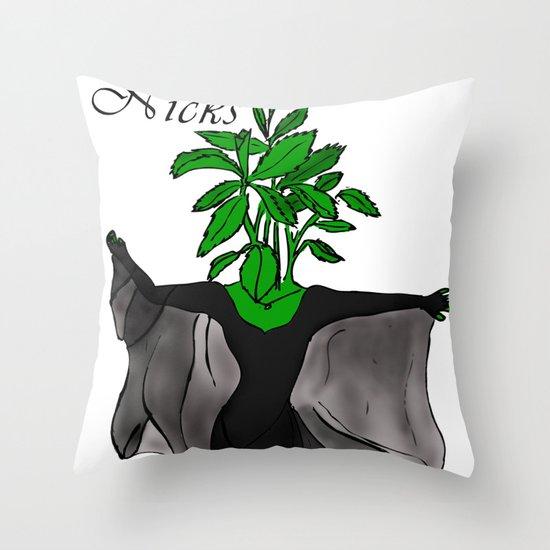 Stevia Nicks Throw Pillow