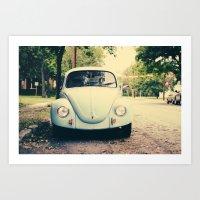bug love Art Print