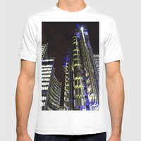 Lloyds Of London Mens Fitted Tee White SMALL