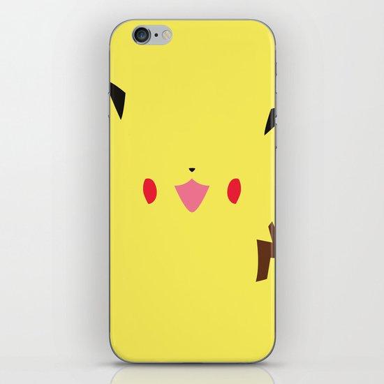 Pokemon - Pikachu Minimalist iPhone & iPod Skin